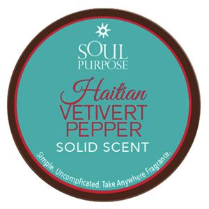 Picture of Haitian Vetivert Pepper Solid Scent - 0.5 oz
