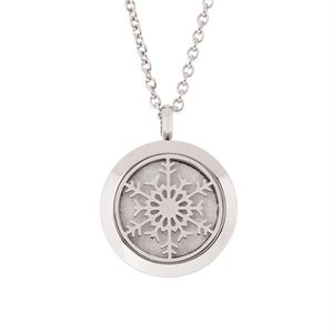 Picture of Snowflake Essential Oil Locket